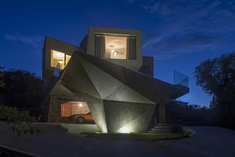 Интересный дом для семьи в Хорватии